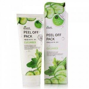 Маска-пленка для лица с огурцом Ekel Peel off pack Cucumber