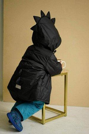 Куртка Дино зима 2020 черная скидка