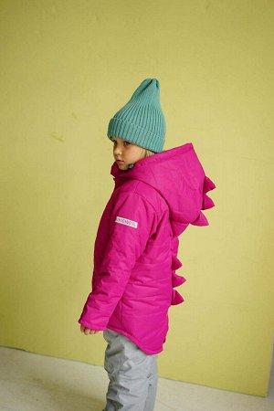 Куртка Дино зима 2020 фуксия скидка