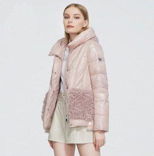 Женская демисезонная куртка с капюшоном ХИТ ПРОДАЖ, цвет розовый