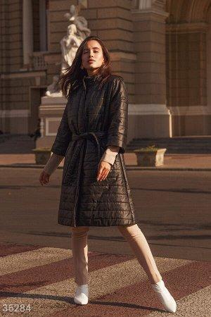 Легкое стеганое пальто