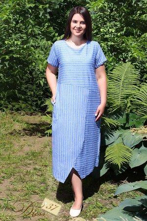 Платье «Симпл» голубое