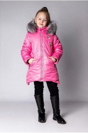 "Зимнее пальто ""лолла"" цвет розовый"