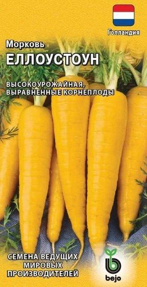 Морковь Еллоустоун 150 шт. (Голландия) Н19
