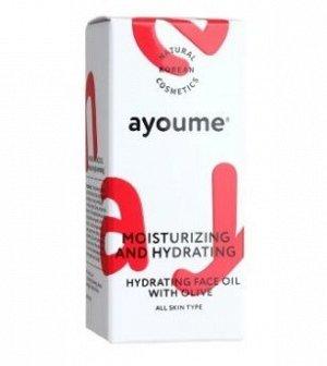 Увлажняющее масло для лица с экстрактом оливы Moisturizing & Hydrating Face Oil With Olive