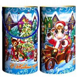 Сладкие Новогодние подарки от Деда Мороза. Предзаказ. — ПОДАРКИ В ТУБУСАХ — Все для Нового года