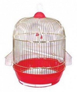 Клетка для птиц круглая 33,5*53,5см