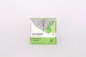 Натуральный твердый шампунь sharme hair lemongrass (лемонграсс)