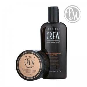 American crew daily набор шампунь 250мл и помада для укладки волос 85гр габ