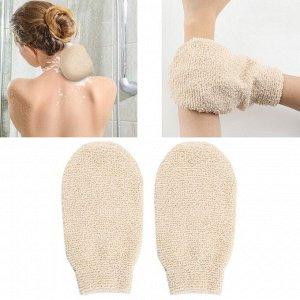 Мочалка рукавичка