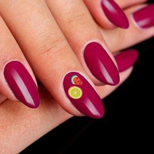 Фимо-дизайн для ногтей «Фрукты», цвет МИКС