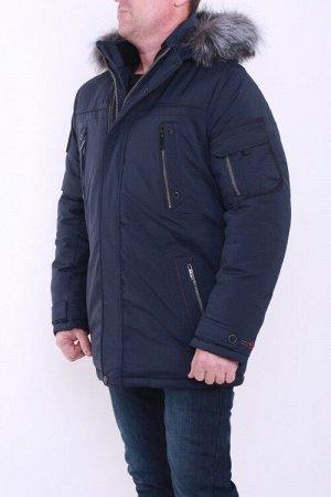 Куртка зима 8018 т.синий