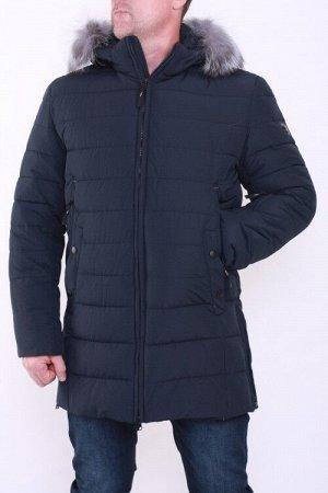 Куртка зима 9019 т.синий