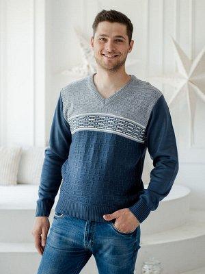 Джемпер мужской Макс серый