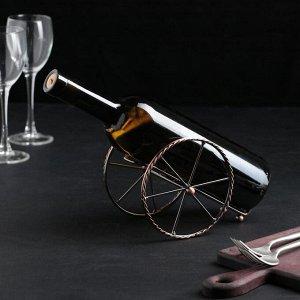 Подставка для бутылки Доляна «Колесница», 19?10?12 см