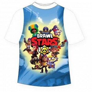 Подростковая футболка Brawl Stars Микс