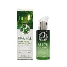 Успокаивающая сыворотка с чайным деревом Enough Premium Ampoule Pure tree | Средства для проблемной кожи