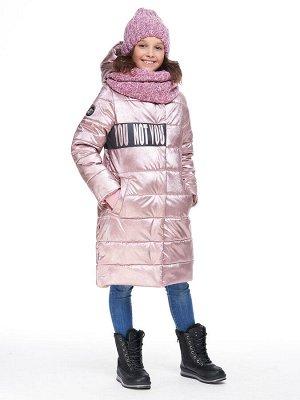 Пальто 6з2220 розовый