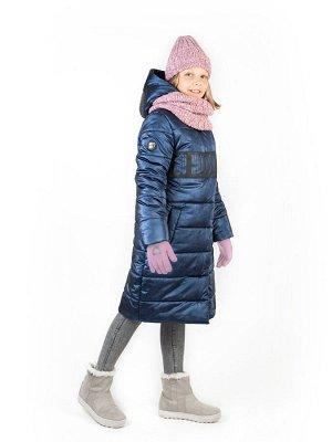 Пальто 6з2220 индиго