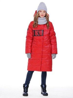 Пальто 6з2220 красный