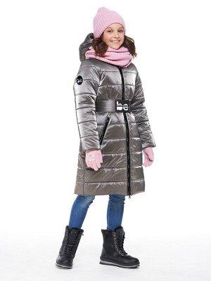 Пальто 6з2420 серый