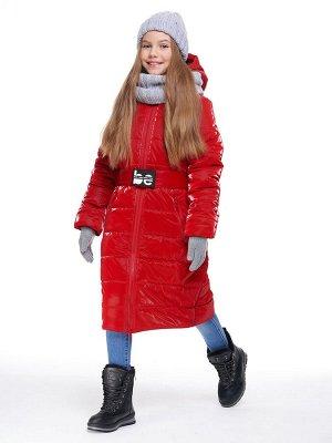 Пальто 6з2420 красный