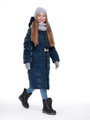Пальто 6з2420 темно-синий