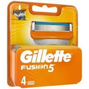 GILLETTE  FUSION  кассета 4 шт, #  75021300