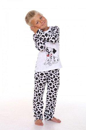 Пижама Состав: Хлопок 100 %; Материал: Кулирка Симпатичная пижама с героями любимых мультфильмов. Отличный комплект для отдыха и сна. Стирка при t не более 40 С.