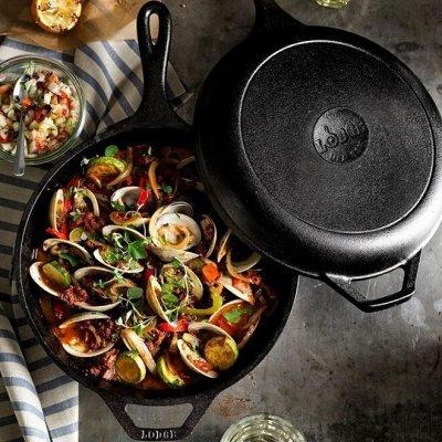 Cкидки SCOVO на каменные сковородки! — Посуда из ЧУГУНА — Посуда