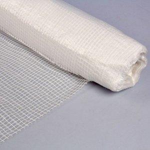 Плёнка полиэтиленовая, армированная, толщина 180 мкм, 2 ? 50 м, белая