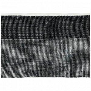Сетка защитная, 4 ? 50 м, плотность 120 г/м?, с усиленным краем - 6 см, чёрная