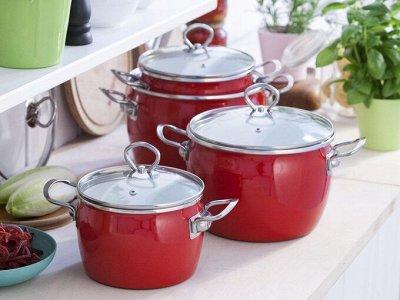 Cкидки SCOVO на каменные сковородки! — Эмалированная посуда — Посуда