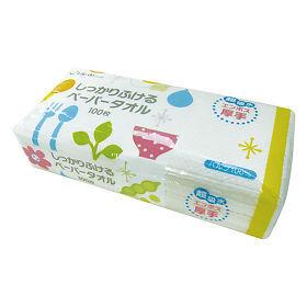 Бумажные полотенца для кухни (плотные, тисненые) 100 шт