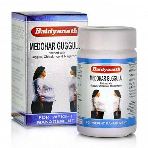 Baidyanath Medohar Guggulu / Байдианат Медохар Гуггул 120таб.