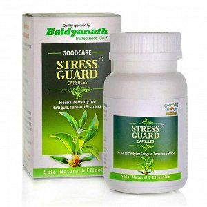 Baidyanath Stress Guard / Байдианат Стресс Гуард 60таб. [A+]