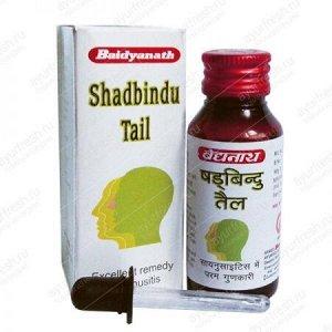 Baidyanath Ayurveda Shadbindu Tail / Байдианат Шадбинду 50мл. [A+]