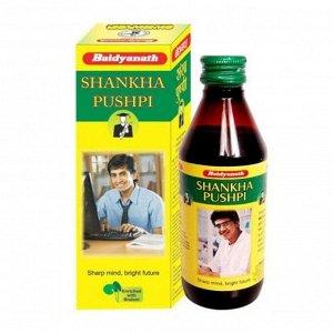 Baidyanath Ayurveda ShankhaPushpi Syrup / Байдианат Шанкха Пушпи 300мл. [A+]