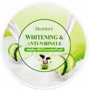 Увлажняющий крем с экстрактом огурца Moisture Milk Cucumber Cream