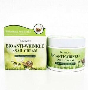 Био-крем против морщин с экстрактом улитки Bio Anti-Wrinkle Snail Cream