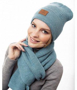 M 1044 S 1044 флис (колпак+шарф) Комплект