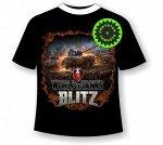 Подростковая футболка Танки Блиц 1122