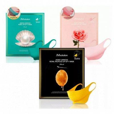 Korea - Shop - самые популярные продукты по оптовым ценам — Лифтинг-маски для овала лица — Антивозрастной уход
