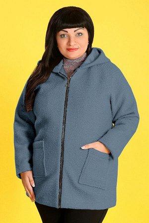 Синий Примечание:замеры длин соответствуют размеру 56 Длина куртки:76 см Длина рукава:64 см Подкладка:есть Застежка:молния Карманы:есть, два функциональных Декор:нет Состав:полиэстер 100% Ткан