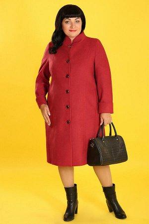 Белорусское пальто для полных женщинтерракотовый