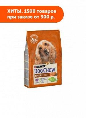 Dog Chow Adult Mature 5+ сухой корм для взрослых собак Ягненок 14кг АКЦИЯ!