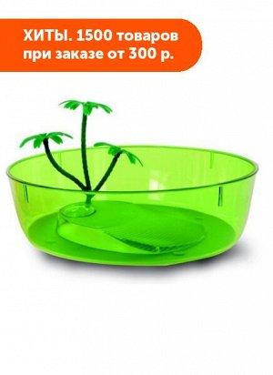 Чаша пластиковая для черепах MP-Bergamo NISIDA MAXI 33*33*10см