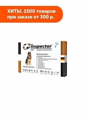 Inspector капли от внутренних и внешних паразитов для собак 25-40кг 4мл 1пипетка