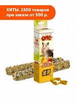 Little One палочки Фрукты/Орехи для хомяков, крыс, мышей, песчанок 2*60г