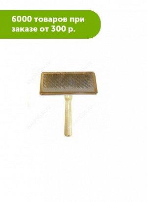 Пуходерка Классика XL, 190*120мм деревянная ручка